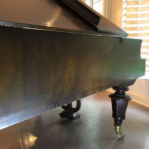 side of a Boesenforfer piano