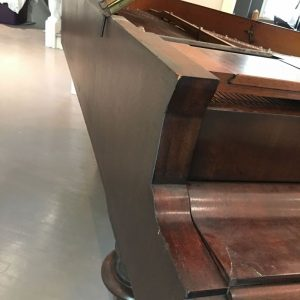 Boesenforfer piano with the lid over keys